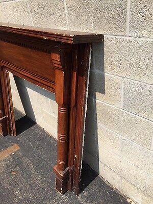 M 37 Antique Pine Fireplace Mantel 1800Scirca