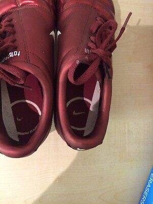 Nike Total 90111 Air Zoom Red Kids Junior Football Boots Uk 6 Eur 40 11