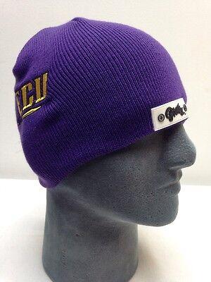 b066a3f07 ECU FOOTBALL HELMET Beanie Hat Skin Pirates College Winter Hat NCAA Skull  Cap