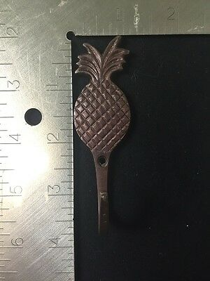Oil Rubbed Bronze Decorative Rustic Pineapple Hooks 3