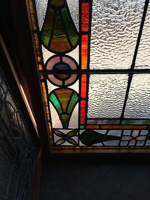 Sg 777 Antique Stained Glass Window Colorful 3
