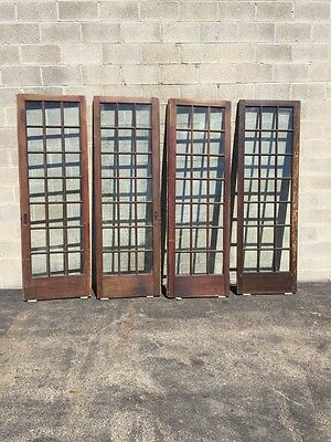 "Cm 21 For Available Price Separate Antique Pine French Door 27"" X 84 X11 5/8"" 9"