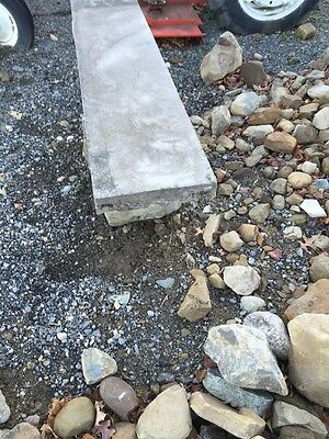 Antique Five Piece Stacked Stone Garden Bench 4