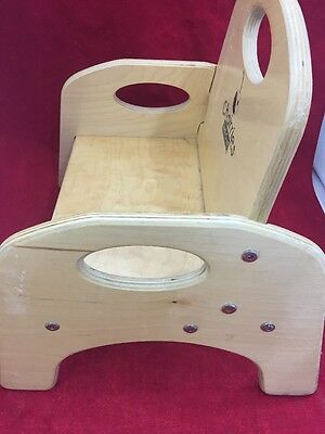 Gentil 4 Of 6 CHAIRRIES Jonti Craft Wooden Booster Seat High Chair W/o Straps No  Tray 14
