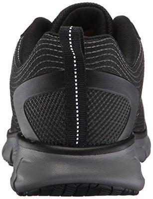 77203 Skechers For Work Women's Synergy Alloy Toe Work Shoe Black 3