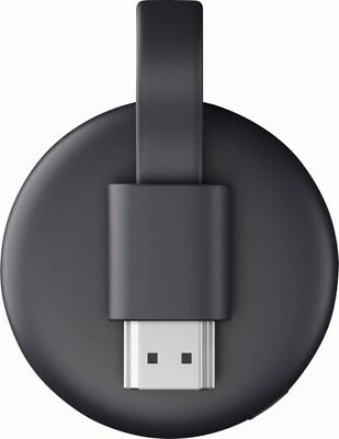 Google Chromecast 3rd Gen Digital HDMI Media Streaming (2018 NEWEST VERSION) NEW 4