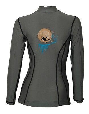 Progress Rash Guard Ladies T-Shirt Hemd Kite Surfen Wakeboard Wasserski G-7-2