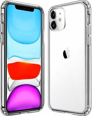 Shockproof Transparent Silicone Case Cover For iPhone 11 XS Max XR 8 7 Plus 6S 6 8
