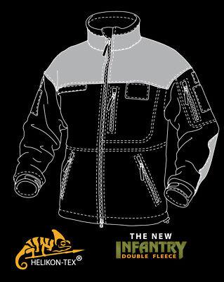 Helikon Tex Infantry Duty Fleece Jacket Black schwarz Outdoor Jacke 11
