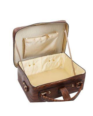 New Women's Hard Case Vintage 3D Radio/Wardrobe Hand Bag Novelty Bag Jewelry Box 3