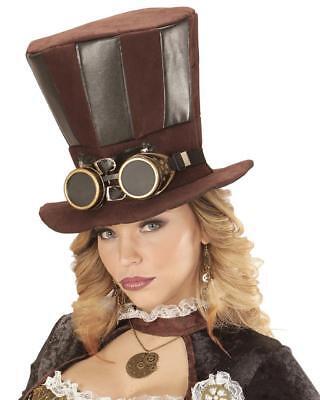 Cilindro Steampunk con Occhiali Accessori Costume Carnevale PS 26421 2
