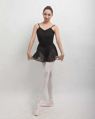 New Lady Adult Girl Ballet Dance Leotard Gymnastic Sleeveless Cotton Lace C005