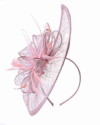 New Large Headband Aliceband Hat Fascinator Wedding Ladies Day Races Royal Ascot 5