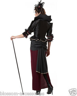 Dark Temptress Vampire Vampiress Gothic Medieval Halloween Plus Costume