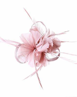New Large Headband Aliceband Hat Fascinator Wedding Ladies Day Races Royal Ascot 6