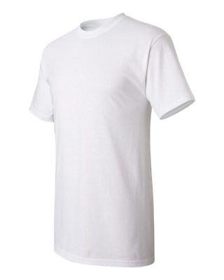 Men's Plain Blank T-shirt Basic Tee White Black Grey sizes XS - XXXL New Bulk 3