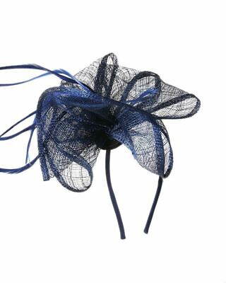 Flower Feather Fascinator Aliceband Hat Ladies Hair band Formal Race Royal Ascot 5