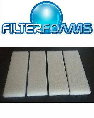 Fluval 3 Plus + Foam Filter Sponge Pads Compatible Replacement Media 2
