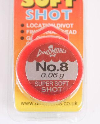 Dinsmores Super Soft Single Shot Klemmblei 0,6g