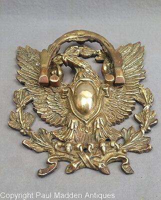 Antique Brass American Eagle Doorknocker 2