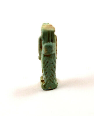 Egypt Late Period 26th-29th Dynasty a blue faience amulet of Taweret. 4