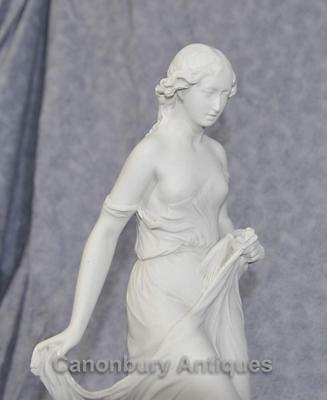 Classical Italian Stone Stepping Stone Maiden Statue Art 7
