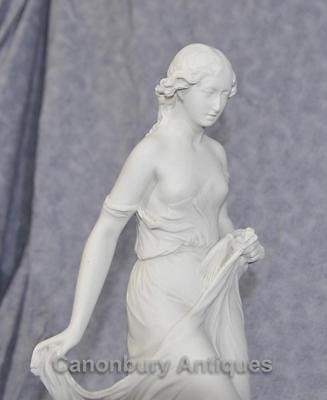 Classical Italian Stone Stepping Stone Maiden Statue Art 7