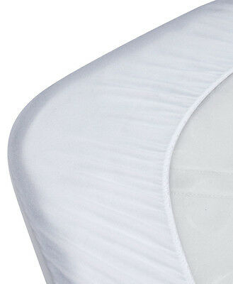 KIDZ KISS Bamboo Waterproof Fitted Mattress Protector / Cover [Standard Cot]