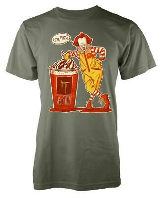 IT Clown Pennywise Mcdonalds Extra Floats Mashup Horror Scary Kids T Shirt