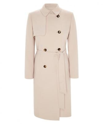 Austin Reed Women S Coat Mac Beige Jacket 10uk 194 66 Picclick