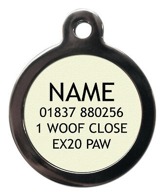 Do Not Feed Pet Tags - Custom Illness Pet ID Tags-Engraved FREE Dog Medicine Tag