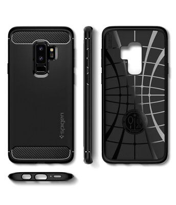 Galaxy S9/8 Plus S7 Edge Case Genuine Spigen Rugged Armor Slim Cover Samsung 9