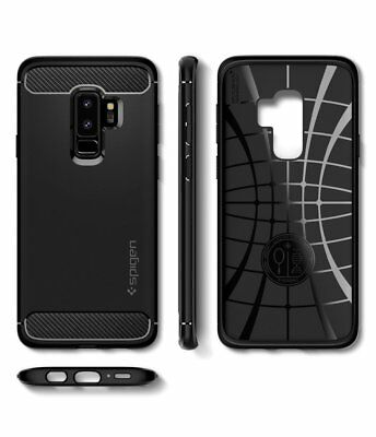 Galaxy S9/Plus S8 S7 Edge Case Genuine Spigen Rugged Armor Slim Cover Samsung 9