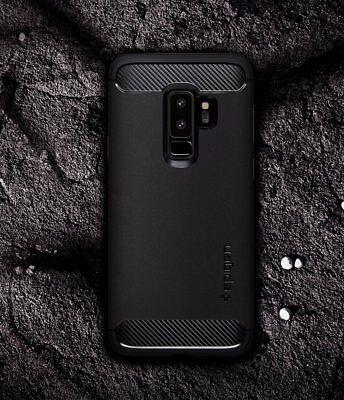 Galaxy S9/8 Plus S7 Edge Case Genuine Spigen Rugged Armor Slim Cover Samsung 3