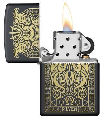 Zippo Windproof Engraved Demonic Monster Lighter, 29965, New In Box 2