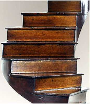 Architectural Model - Spiral Stairs- Museum Reproduction 2