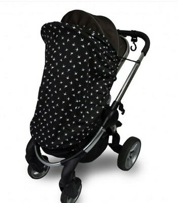 New Outlook Sleep Eazy Stroller Cover Black Swallows Free Express Shipping 4