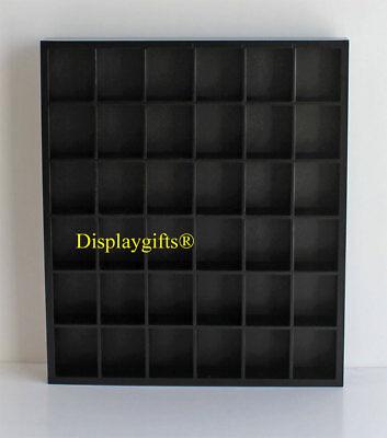 Shot Gl Display Case Rack Wall Shelves Shadow Box No Door Mh37 2