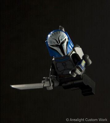 Custom DARKSABER Darkblade for Minifigures -Star Wars Pre Vizsla -Pick Color! 3