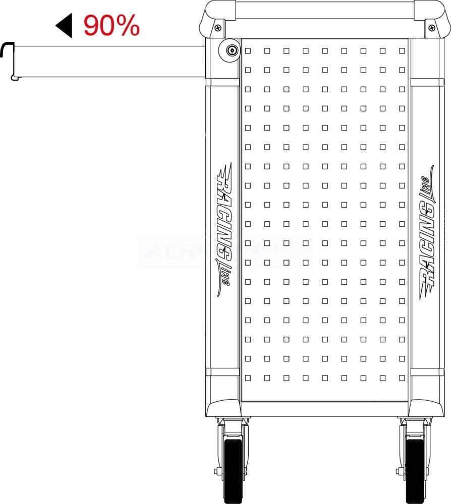 KS OUTILS Atelier chariot MASTERLINE GRATUIT 25 pces un jeu de clé master line