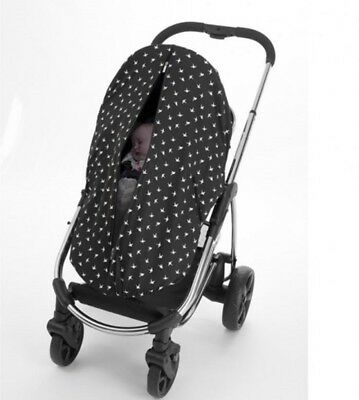 New Outlook Sleep Eazy Stroller Cover Black Swallows Free Express Shipping 3