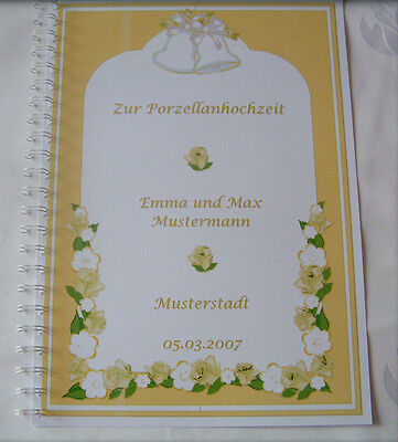 Geschenk 20 Hochzeitstag