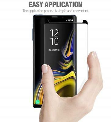 Case Friendly Tempered Glass Screen Protector Samsung Galaxy Note 9 S9 / S8 Plus 6