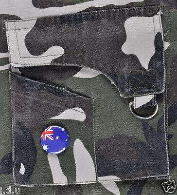 Genuine Australian Oz Military Brass Dog Tags Army Id+Storage Tin Case+Free Text