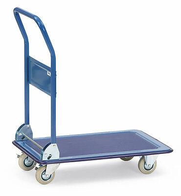 fetra® Magazinwagen Plattformwagen Transportwagen Handwagen Rollwagen Paketwagen