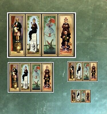 Haunted Mansion Stretching Room All 4 Scenes On 1 Poster -  (B2G1 Free!) 2