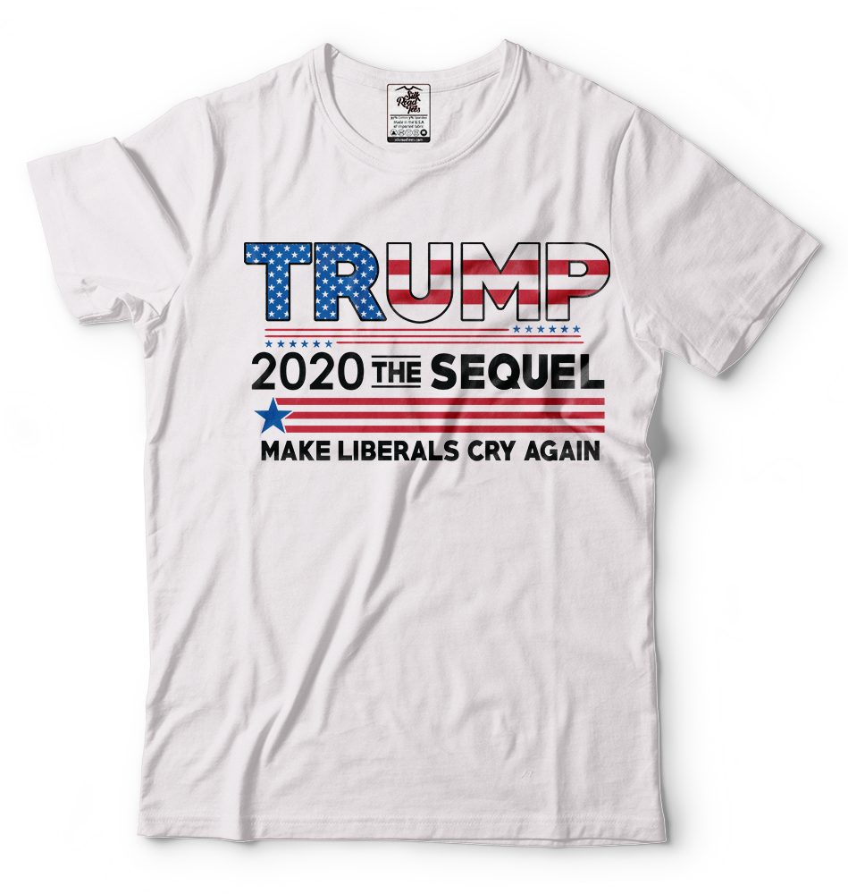 Donald Trump President T-shirt Funny 2020 Elections Make Liberals Cry Again Tees 8