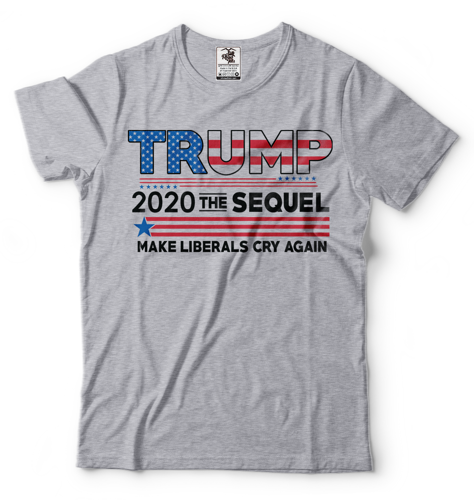 Donald Trump President T-shirt Funny 2020 Elections Make Liberals Cry Again Tees 3