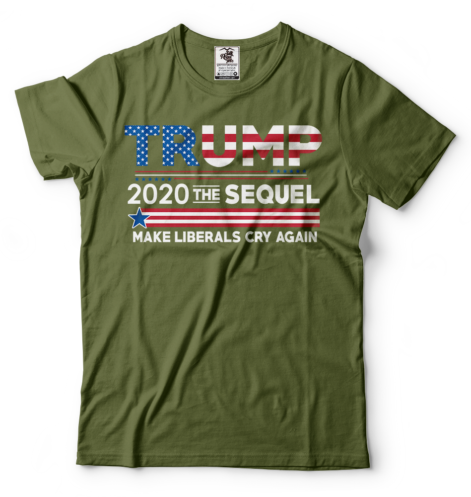 Donald Trump President T-shirt Funny 2020 Elections Make Liberals Cry Again Tees 5