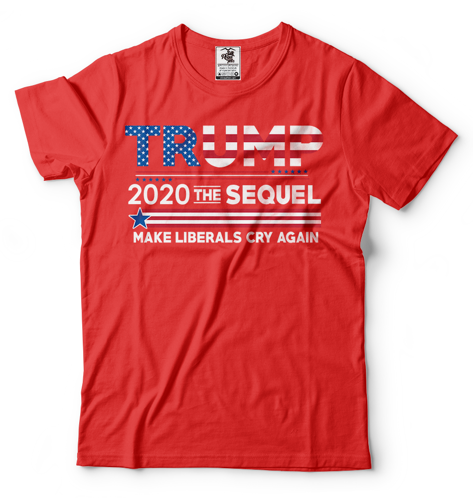 Donald Trump President T-shirt Funny 2020 Elections Make Liberals Cry Again Tees 7